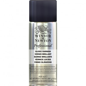 VERNICE FINALE BRILLANTE SPRAY WINSOR & NEWTON 400 ml