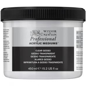 GESSO TRASPARENTE WINSOR & NEWTON BARATTOLO 450 ml