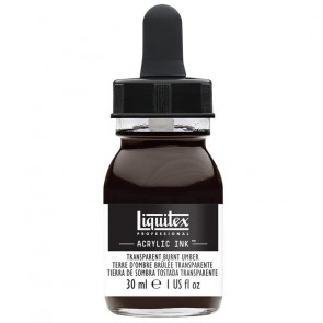 LIQUITEX ACRYLIC INK 30 ml    130 TRANSPARENT BURNT UMBER