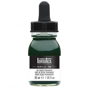 LIQUITEX ACRYLIC INK 30 ml    315 SAP GREEN PERMANENT