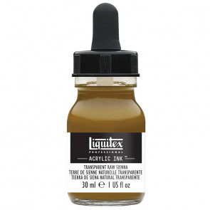 LIQUITEX ACRYLIC INK 30 ml    331 TRANSPARENT RAW SIENNA