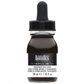 LIQUITEX ACRYLIC INK 30 ml    333 TRANSPARENT RAW UMBER