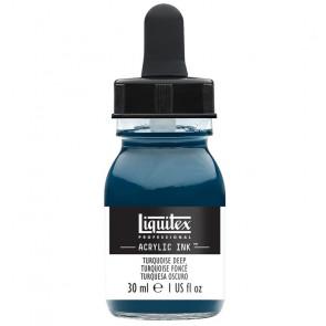 LIQUITEX ACRYLIC INK 30 ml    561 TURQUOISE DEEP