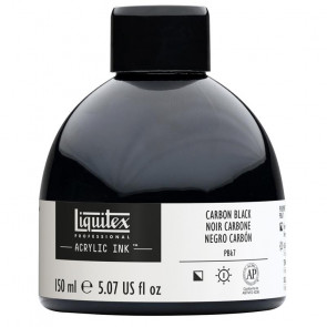 LIQUITEX ACRYLIC INK 150 ml   337 CARBON BLACK