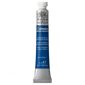 ACQUERELLO COTMAN TUBO 8 ml   BLU INTENSO