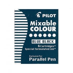 CARTUCCE INCHIOSTRO PILOT PARALLEL PEN COLORE BLUEBLACK 6 PZ