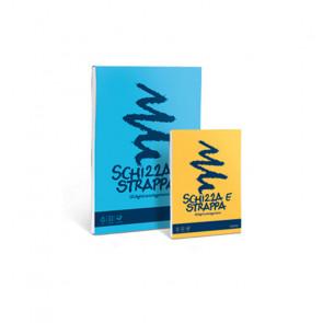 BLOCCO SCHIZZA E STRAPPA A4 21X29.7 cm 150 FOGLI 55g