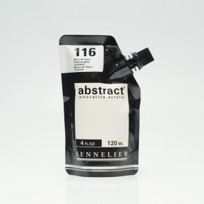 ACRILICO SENNELIER ABSTRACT 120 ml 116 TITANIUM WHITE