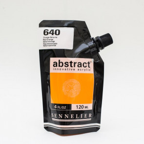 ACRILICO SENNELIER ABSTRACT 120 ml 640 RED ORANGE