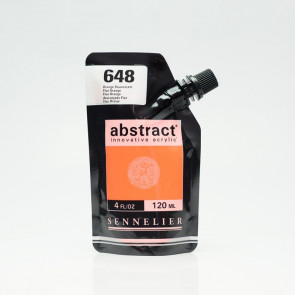 ACRILICO SENNELIER ABSTRACT 120ml 648 FLUO ORANGE