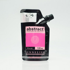 ACRILICO SENNELIER ABSTRACT 120ml 654 FLUO PINK