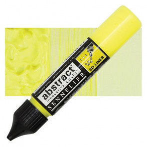 ACRILICO SENNELIER ABSTRACT 3D LINER 502 JAUNE FLUORESCENT