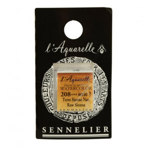 ACQUERELLO SENNELIER ½ GOD 208 S1 RAW SIENNA