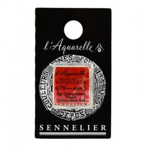ACQUERELLO SENNELIER ½ GOD 679 S3 QUINACRIDONE RED