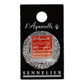 ACQUERELLO SENNELIER ½ GOD 691 S2 ROSE DORE MADDER LAKE