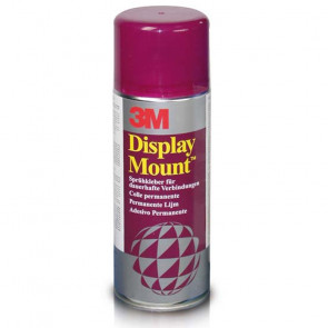 COLLA SPRAY DISPLAY MOUNT 400 ml COLLANTE PERMANENTE