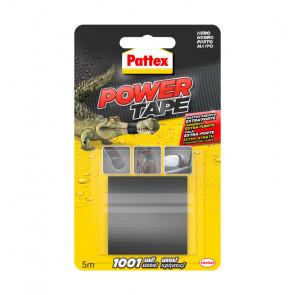 NASTRO PATTEX POWER TAPE EXTRA FORTE 50mm x 5m COLORE GRIGIO