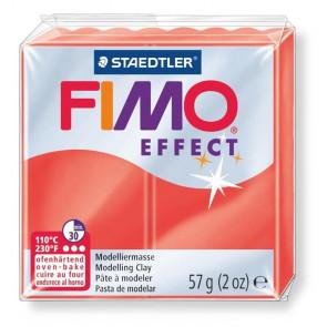 FIMO® SOFT EFFECT 57g N. 204  ROSSO TRASLUCIDO