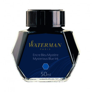 FLACONE INCHIOSTRO WATERMAN 50 ml BLU NERO