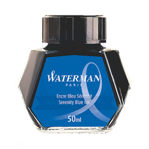 FLACONE INCHIOSTRO WATERMAN 50 ml BLU