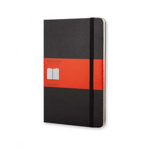 MOLESKINE POCKET ADDRESS BOOK RUBRICA BLACK HARD COVER 9X14 cm