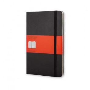 MOLESKINE LARGE ADDRESS BOOK RUBRICA BLACK HARD COVER 13X21 cm