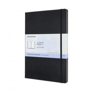 MOLESKINE A4 WATERCOLOUR ALBUM BLACK 21X29,7 cm 200 g/m²