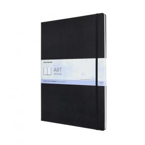 MOLESKINE A3 WATERCOLOUR ALBUM BLACK 42X29,7 cm 200 g/m²