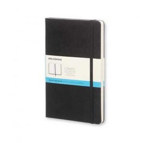 MOLESKINE LARGE DOTTED NOTEBOOK BLACK HARD COVER 13X21 cm