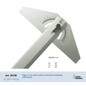 RIGA A T MOBILE MORGANTINA 507/MIN ALLUMINIO  80 cm