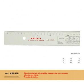RIGA MORGANTINA KRUNIK IN PLASTICA INFRANGIBILE 30 cm