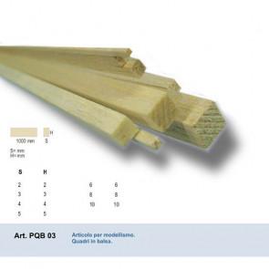 QUADRO IN BALSA 2x2x1000 mm