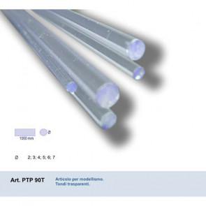 TONDO IN PVC TRASPARENTE 2x2x1000 mm