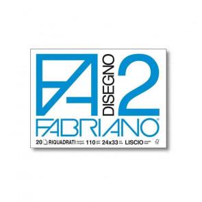 BLOCCO FABRIANO F2 24X33