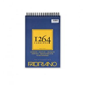BLOCCO SCHIZZI FABRIANO 1264 A4 SPIR. LC 120 FF 90 g/m²