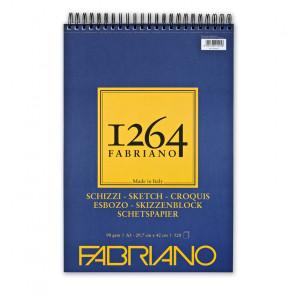 BLOCCO SCHIZZI FABRIANO 1264 A3 SPIR. LC 120 FF 90 g/m²