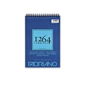BLOCCO TECNICHE MISTE FABRIANO 1264 A4 SPIR. LC 30 FF 300 g/m²