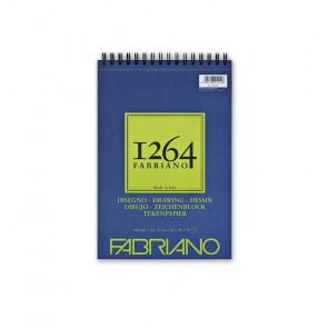 BLOCCO DISEGNO FABRIANO 1264 A4 SPIR. LC 50 FF 180 g/m²