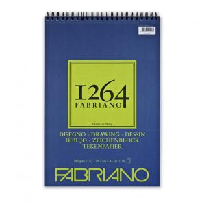 BLOCCO DISEGNO FABRIANO 1264 A3 SPIR. LC 50 FF 180 g/m²