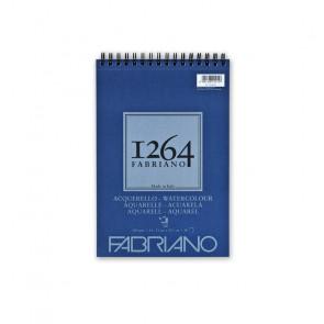 BLOCCO ACQUERELLO FABRIANO 1264 A4 SPIR. LC 30 FF 300 g/m²