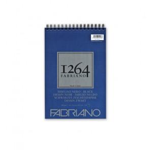 BLOCCO DISEGNO FABRIANO 1264 A4 SPIR. LC 40 FF NERI 200 g/m²