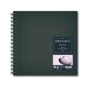 BLOCCO SKETCHBOOK 15X15 80 FOGLI 110 g/m² RILEGATI SPIRALE