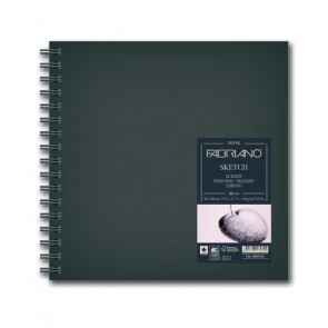 BLOCCO SKETCHBOOK 30X30 80 FOGLI 110 g/m² RILEGATI SPIRALE