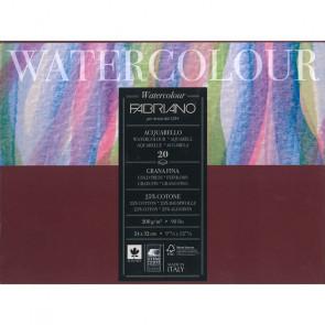 BLOCCO WATERCOLOUR 24X32 20 FOGLI 200 g/m² GRANA FINE