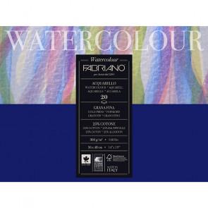 BLOCCO WATERCOLOUR 36X48 20 FOGLI 300 g/m² GRANA FINE