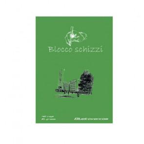 BLOCCO SCHIZZI A4 BLUEKOVER   30 FOGLI 120 g/m²