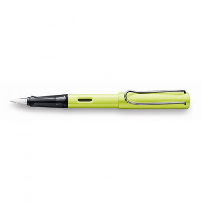STILOGRAFICA LAMY SAFARI AL-STAR CHARGED GREEN PENNINO M
