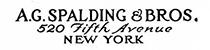 A. G. Spalding & Bros.
